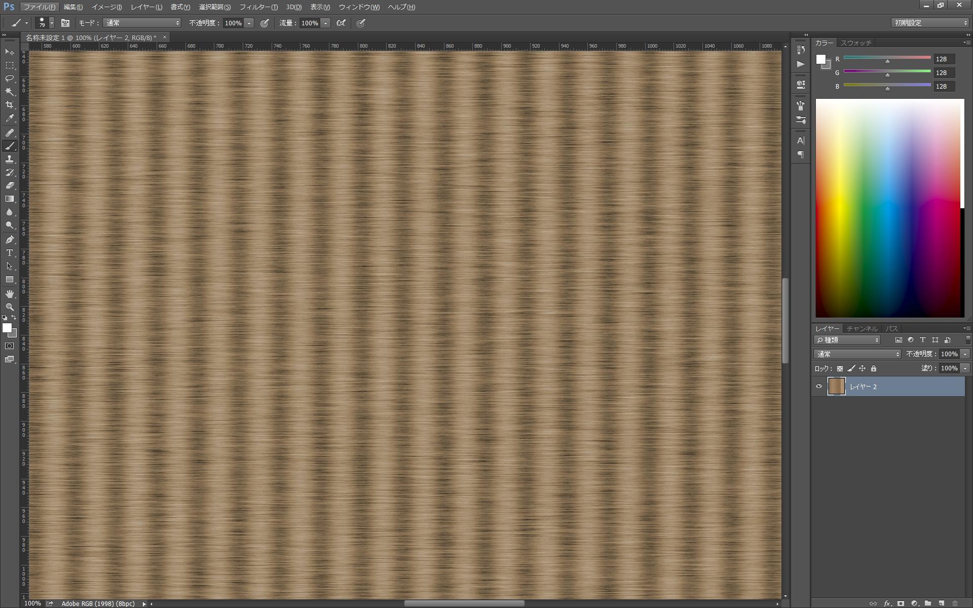 はちゃち的、畳テクスチャの作り方 はちゃち的な。